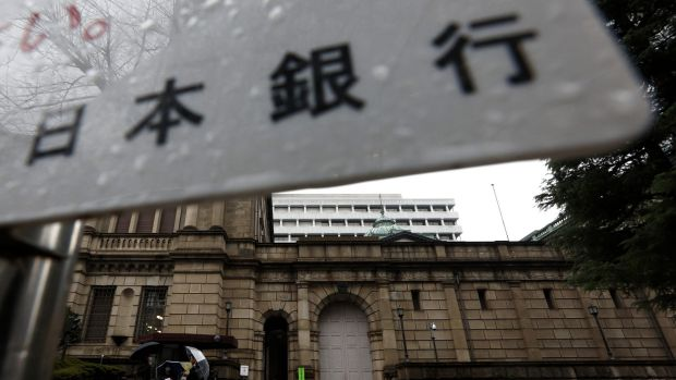 The Bank of Japan 's negative rates decision from Friday is still driving the market today.