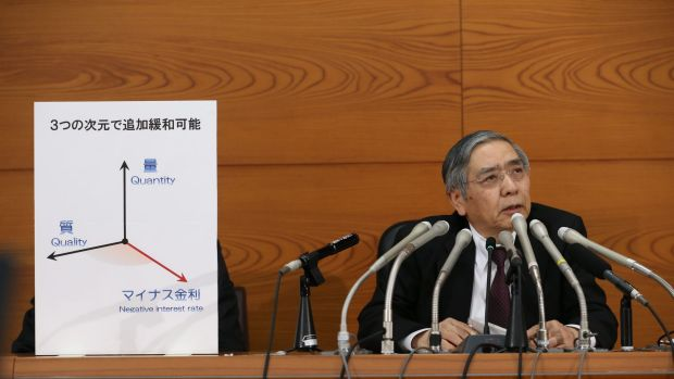 The Bank of Japan has raised the bar in competitive devaluations, Weston says.