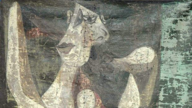 The canvas seized by Turkish police is thought to be a 1940 work by Pablo Picasso.