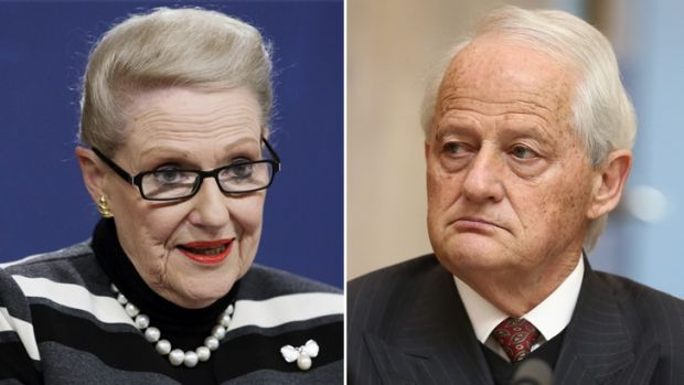 Bronwyn Bishop and Philip Ruddock.