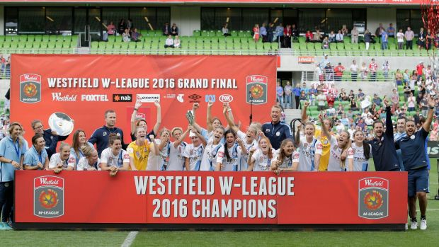 Poorly staged event: The W-League grand final ran smoothly...until after the game.