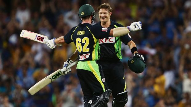 Shane Watson is continuing his recent Twenty20 run-fest.