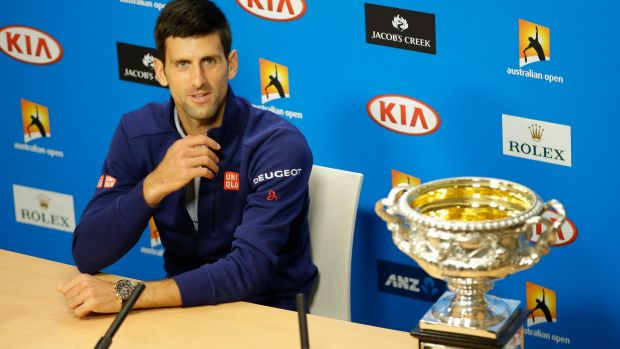 Novak Djokovic: determined to remain the hungriest wolf in the pack.