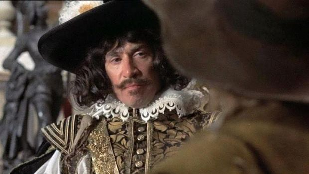 Frank Finlay in the <i>Three Musketeers</i>.