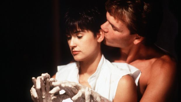 Demi Moore and Patrick Swayze in <i>Ghost.</i>