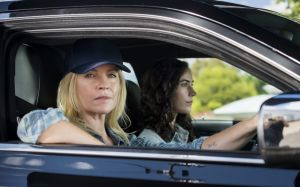 Thelma and Louise is an obvious comparison for Rebecca Gibney and Geraldine Hakewill in Wanted - but there's no driving ...