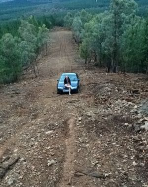 Four teenagers were rescued from dense bushland south-west of Canberra on Sunday night.