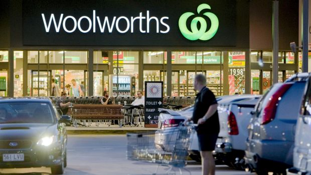 Making too much money is a problem for Woolworths.