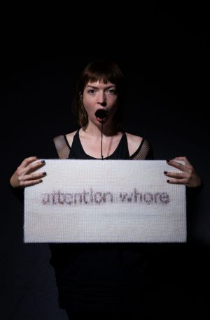 Casey Jenkins: Attention Whore, part of the 2016 Festival of Live Art.