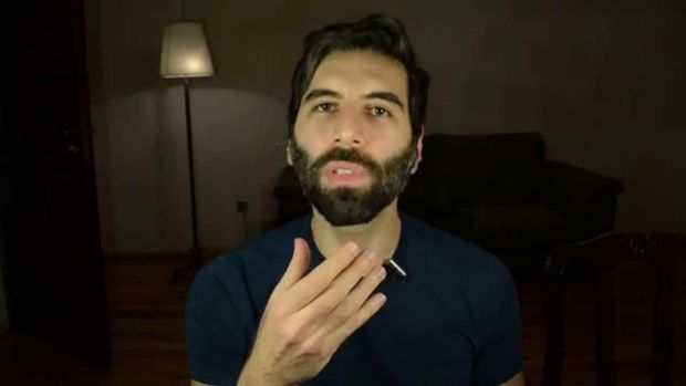 """Daryush """"Roosh"""" Valizadeh, the American founder of the Return of Kings group."""