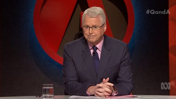 Host Tony Jones pressed Stan Grant on whether he would consider entering politics.