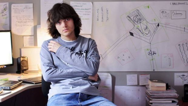 Boyan Slat, 21, founded the project and has worked on it for years.
