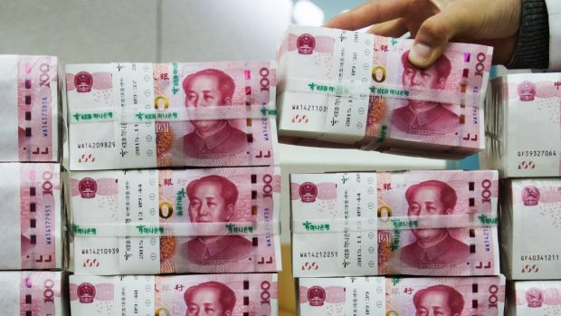 China's onshore financial markets open again on Monday.