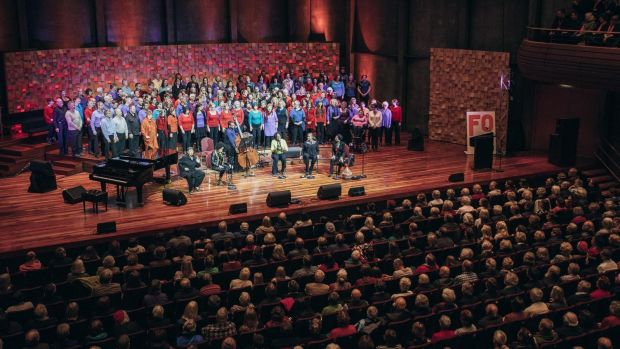 Tasmania's Festival of Voices director Tony Bonney said Sydney's new singing festival might cannibalise acts and audiences.