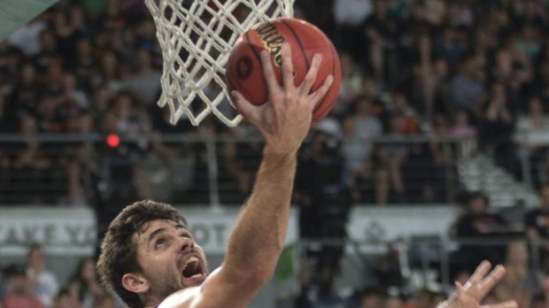 Taking aim: Todd Blanchard says Melbourne United want to shoot down the Hawks in Wollongong on Thursday night.