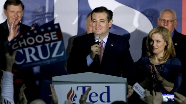Texas Senator Ted Cruz won the Republican caucuses but will now face a stern challenge from his party's establishment.