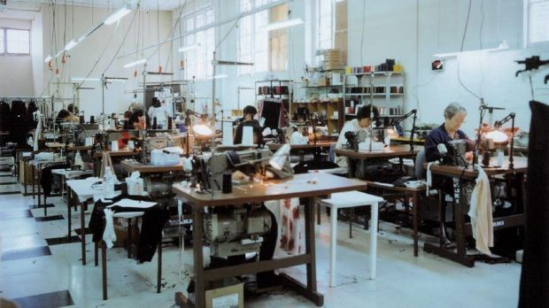 The basement was used by the Pierucci manufacturing team for up to 50 years.