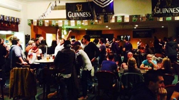 The Irish Club as many football fans would know it.