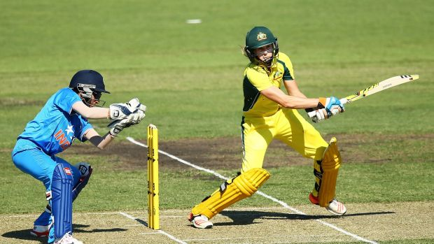 Southern Stars all-rounder Ellyse Perry scored 90 and took four wickets in Tuesday night's 101-run victory against India ...
