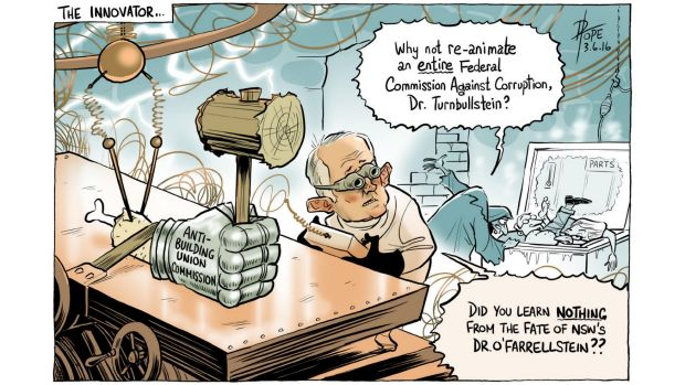 Illustration: David Pope