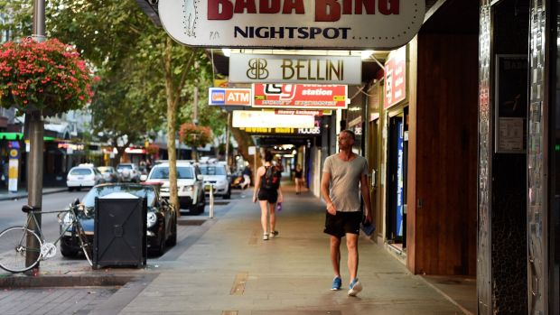 The City of Sydney report highlights figures like an 89 per cent reduction in foot traffic in Kings Cross - but for foot ...