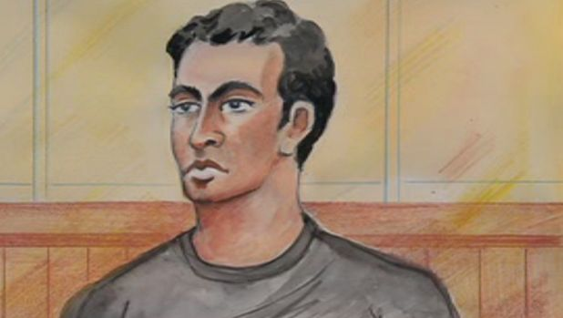 Kyle Zandipour in court at an earlier hearing.