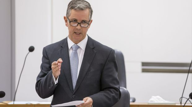 Opposition Leader Jeremy Hanson will revisit the merger of the public trustee and guardian if he wins government.