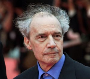 Jacques Rivette at Cannes Film Festival in 2001.