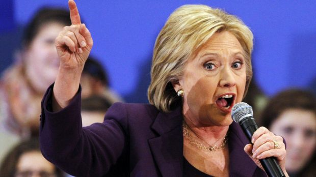 Hillary Clinton campaigns in New Hampshire on Tuesday.