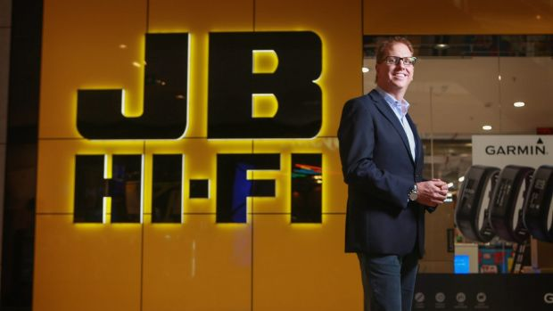 JB Hi-Fi chief executive Richard Murray