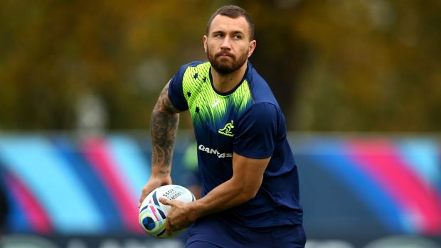 Selection snub: Quade Cooper regards himself as a student of the sevens format.