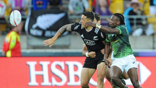 Onwards and upwards: The Blitzboks need to move on from last weekend's loss to New Zealand.