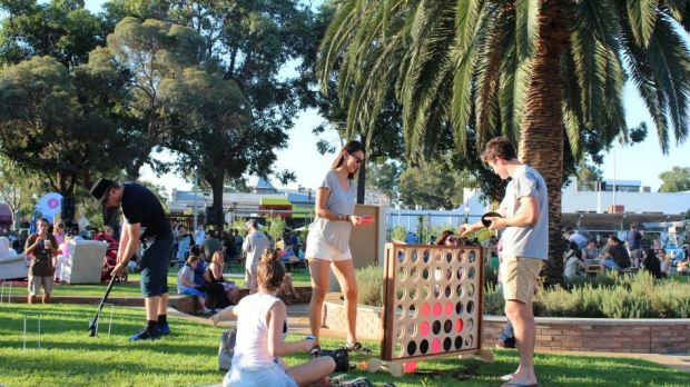 Befriend's Neighbour Day street party at Oxford Reserve, Leederville, in 2015.