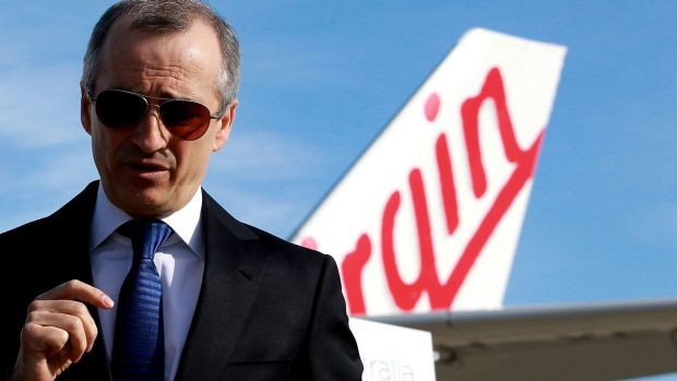 """Virgin boss, John (Massimo) Borghetti, picked up an AO for """"distinguished service"""" to the aviation industry, tourism ..."""