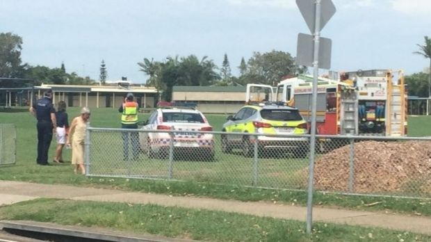 Buddina State School was evacuated after an alleged bomb threat