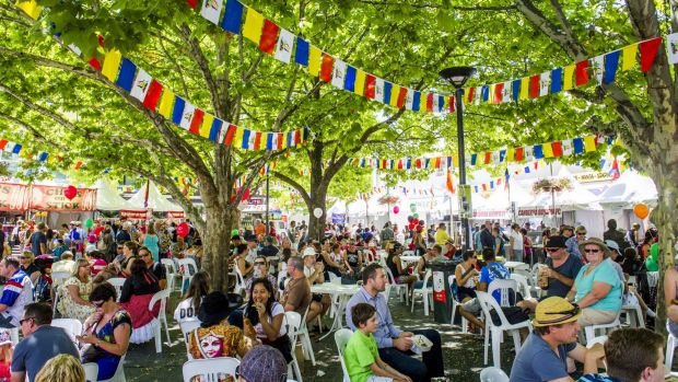 2016 marks the 20th anniversary of the National Multicultural Festival in Canberra.