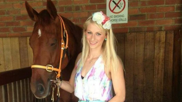 Friederike Ruhle, from Germany, came out of the saddle during a gallop and died soon after being taken to hospital.