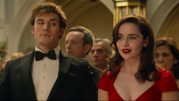 Sam Claflin and Emilia Clarke play love interests in the British film.