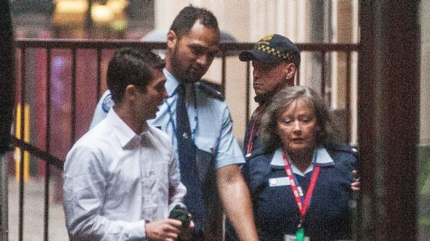 Kyle Zandipour arrives at the Supreme Court of Victoria this week.