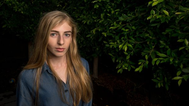 Georgie, 15, is visiting politicians in Canberra hoping to get laws changed that will help other families with ...