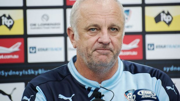 """""""When I got brought up as a coach, it's all about winning"""": Sydney FC coach Graham Arnold."""