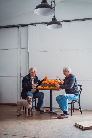 Bass & Flinders founders Wayne Klintworth and Bob Laing swapped retirement for gin distilling.