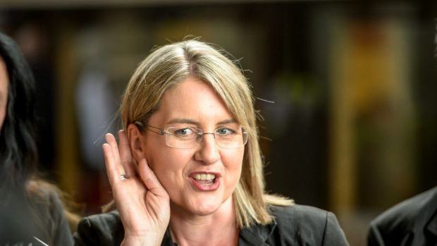 """Transport Minister Jacinta Allan says there is  still a """"way to go"""" before the wheel problem is fixed."""