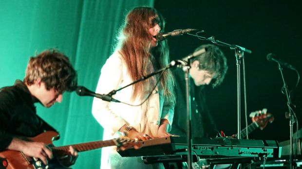 Beach House: With live drums and bass added to the usual two-man show, everything was bigger, deeper and more forceful ...
