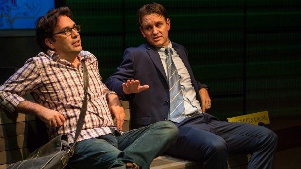 Chris Taylor as Jack and Craig Reucassel as Stu, a sleazeball real estate agent.