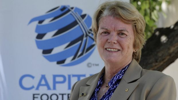 Capital Football boss Heather Reid is stepping down after 12 years in the job.