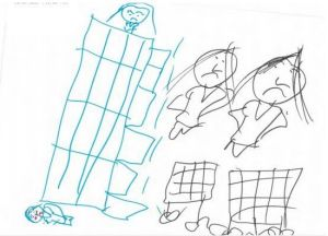 """I jumped from the house to the ground and I died. My mum and dad are crying."" A girl, 7, held in detention at Wickham ..."