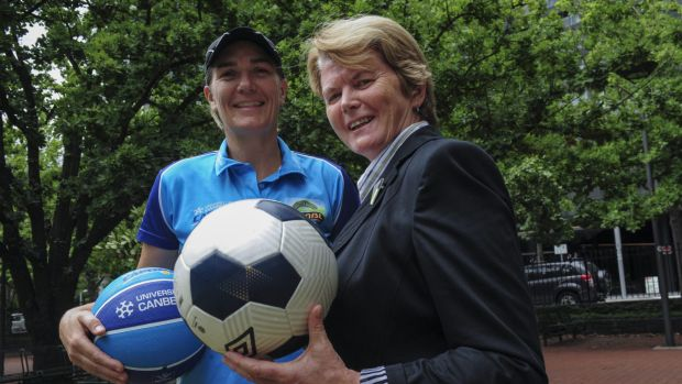 Capitals coach Carrie Graf and Capital Football boss Heather Reid are certainties for ACT Hall of Fame inclusion, if it ...