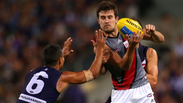 "Jackson Merrett is one of the few players in Essendon's ""narrow waist""."