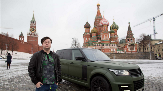 Spending big: Corporate lawyer Yaroslav Gafurov spent some $1.4 million on new cars last year.